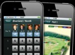 iPhone applikasjon for HagaGolf